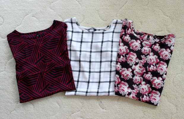 haul tops floral stripes clothes