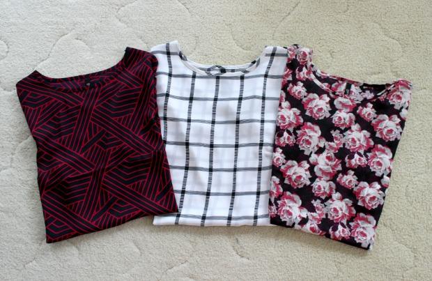 haul tops floral stripes clothes