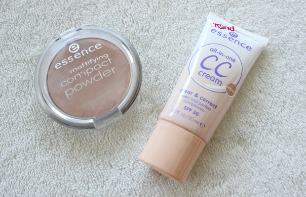 makeup essence cccream powder