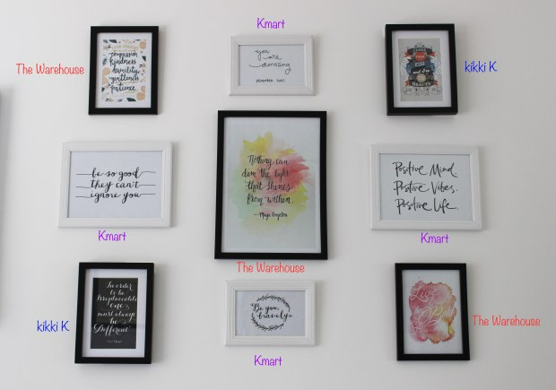 wall art home decor quotes prints
