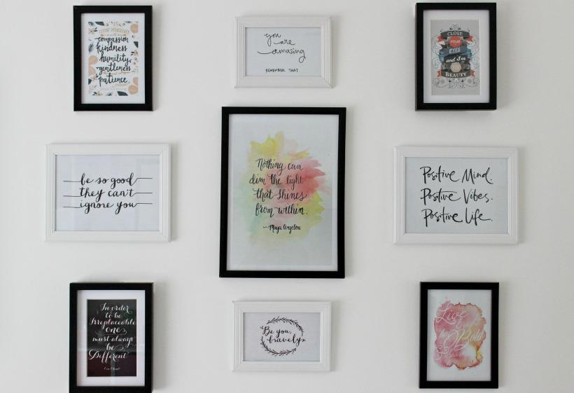prints wall art home decor