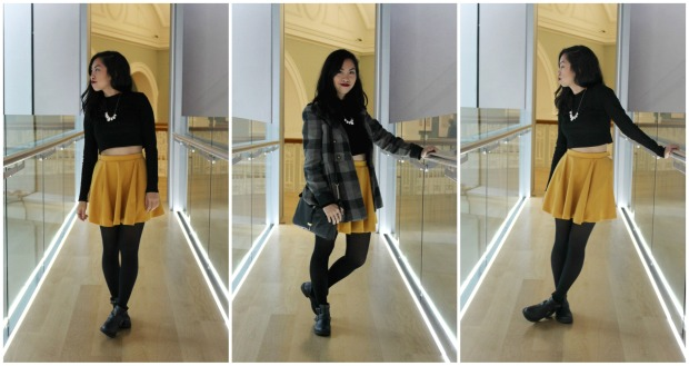 ootd outfit fashion lookbook boots