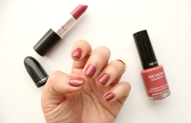 revlon mac lipstick nails cosmetics beauty