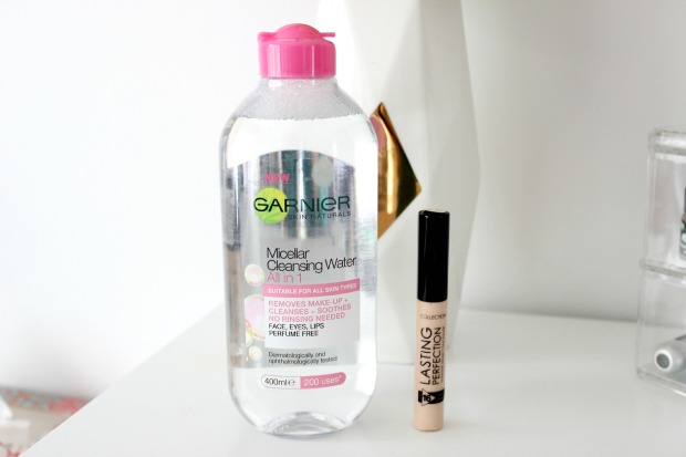 garnier micellar water concealer makeup beauty