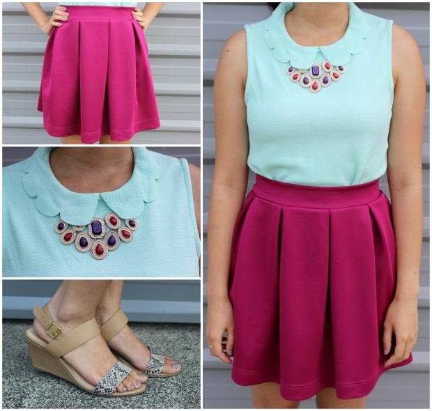 ootd outfit skirt fashion
