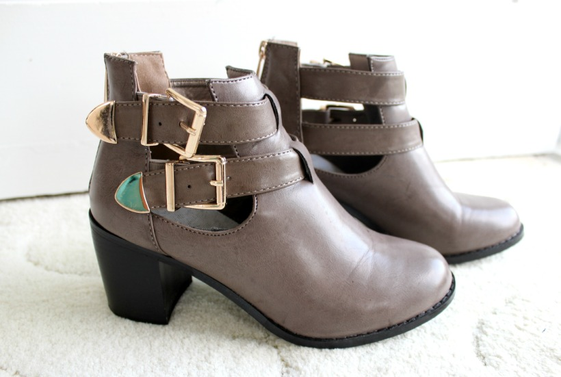 heels shoes ankle boots cotton on winter fashion style haul accessories