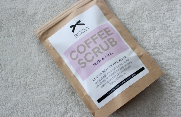 bossy cosmetics beauty skincare nz makeup coffee scrub