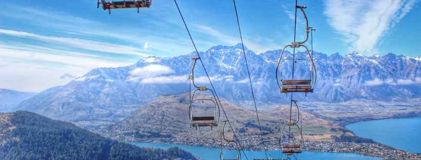 queenstown nz new zealand travel gondolas