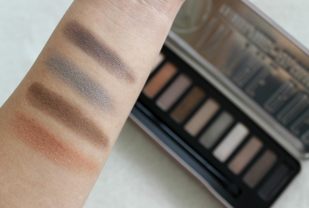 beauty cosmetics eyeshadows palette w7 natural nudes makeup swatches