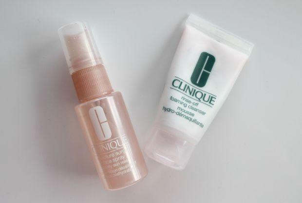 clinique minis skincare