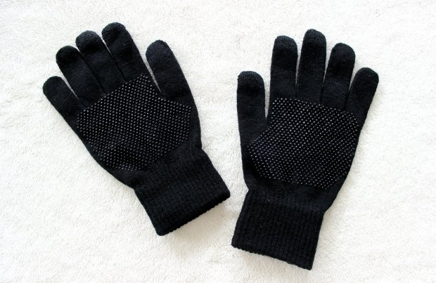 daiso touch screen gloves