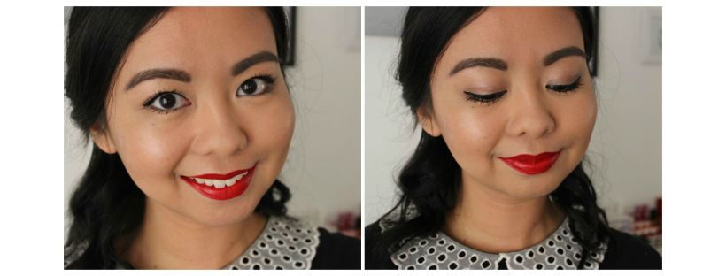 beauty review makeup look motd fotd