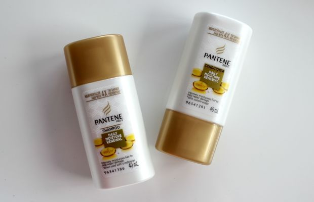 travel minis pantene shampoo conditioner