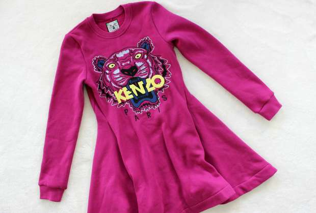 thrifted opshopped haul kenzo paris