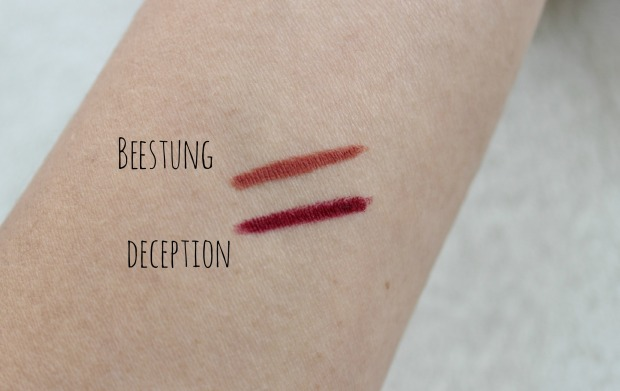 topshop beauty cosmetics makeup swatch
