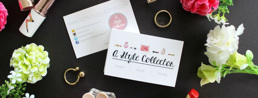 a style collector business cards