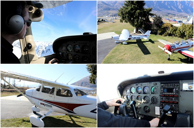 nz queenstown airport air wakatipu plane