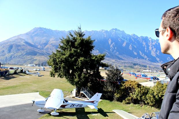 nz queenstown airport air wakatipu
