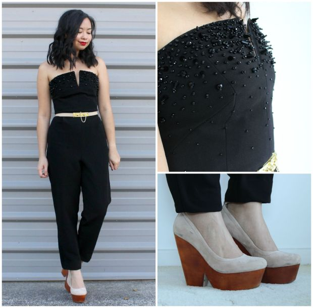 ootd outfit topshop jumpsuit