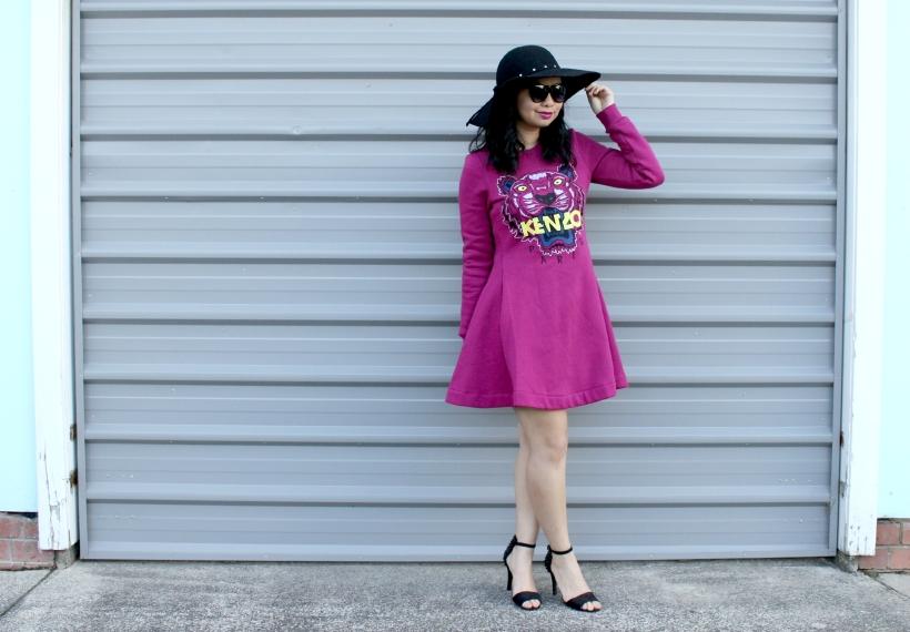 dress ootd kenzo fashion