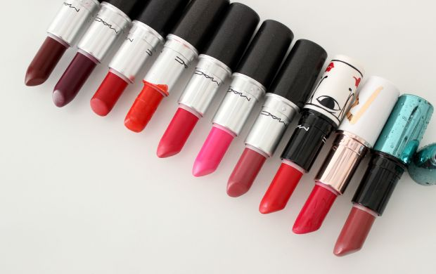 mac cosmetics lipsticks makeup
