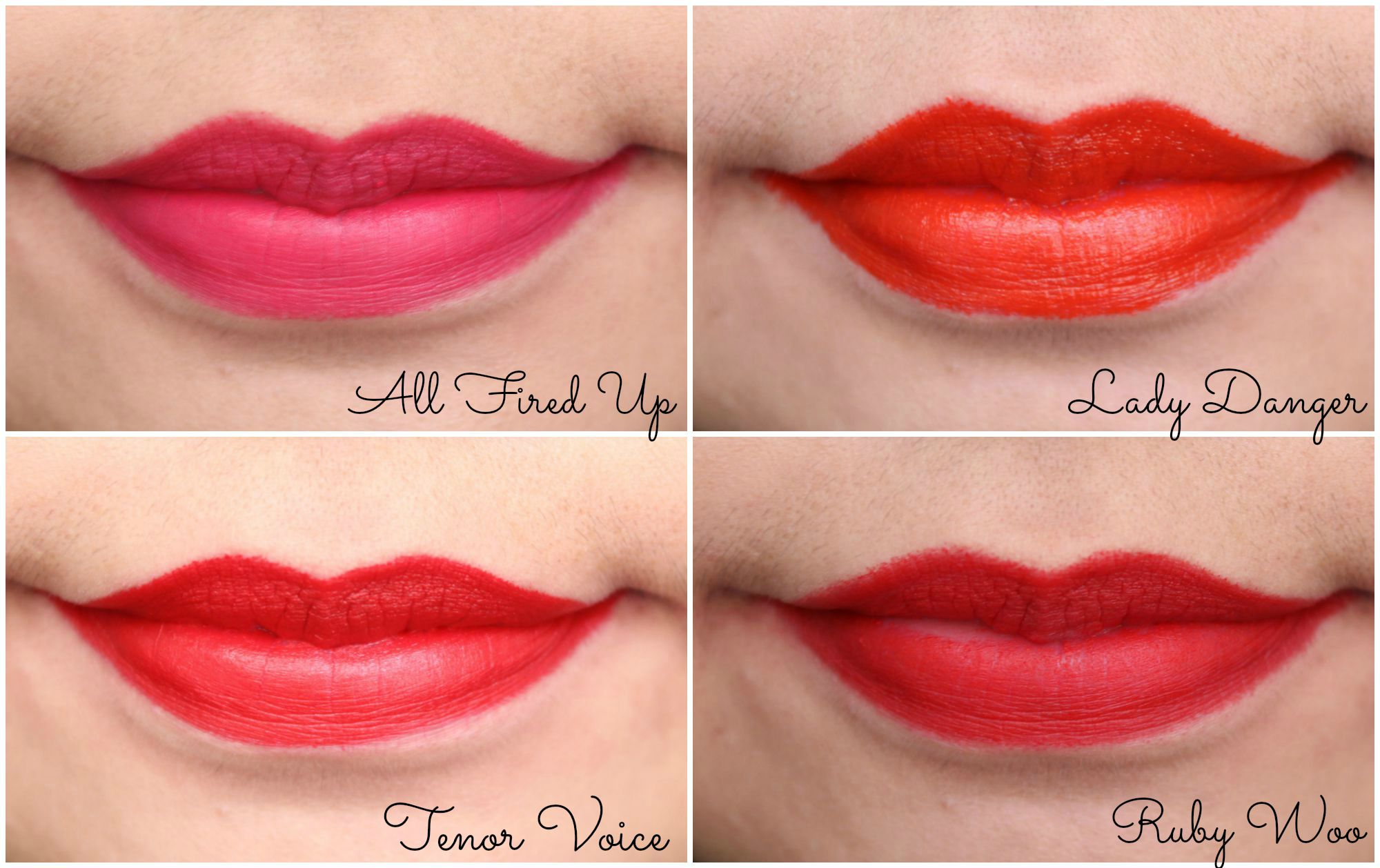 MAC Lipstick Swatch – A Style Collector