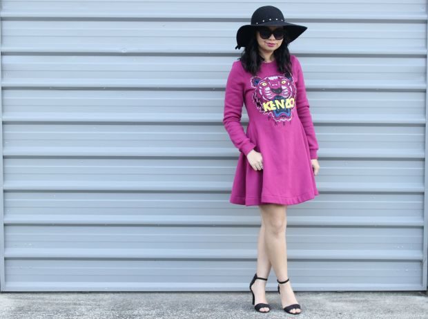 dress ootd kenzo fashion