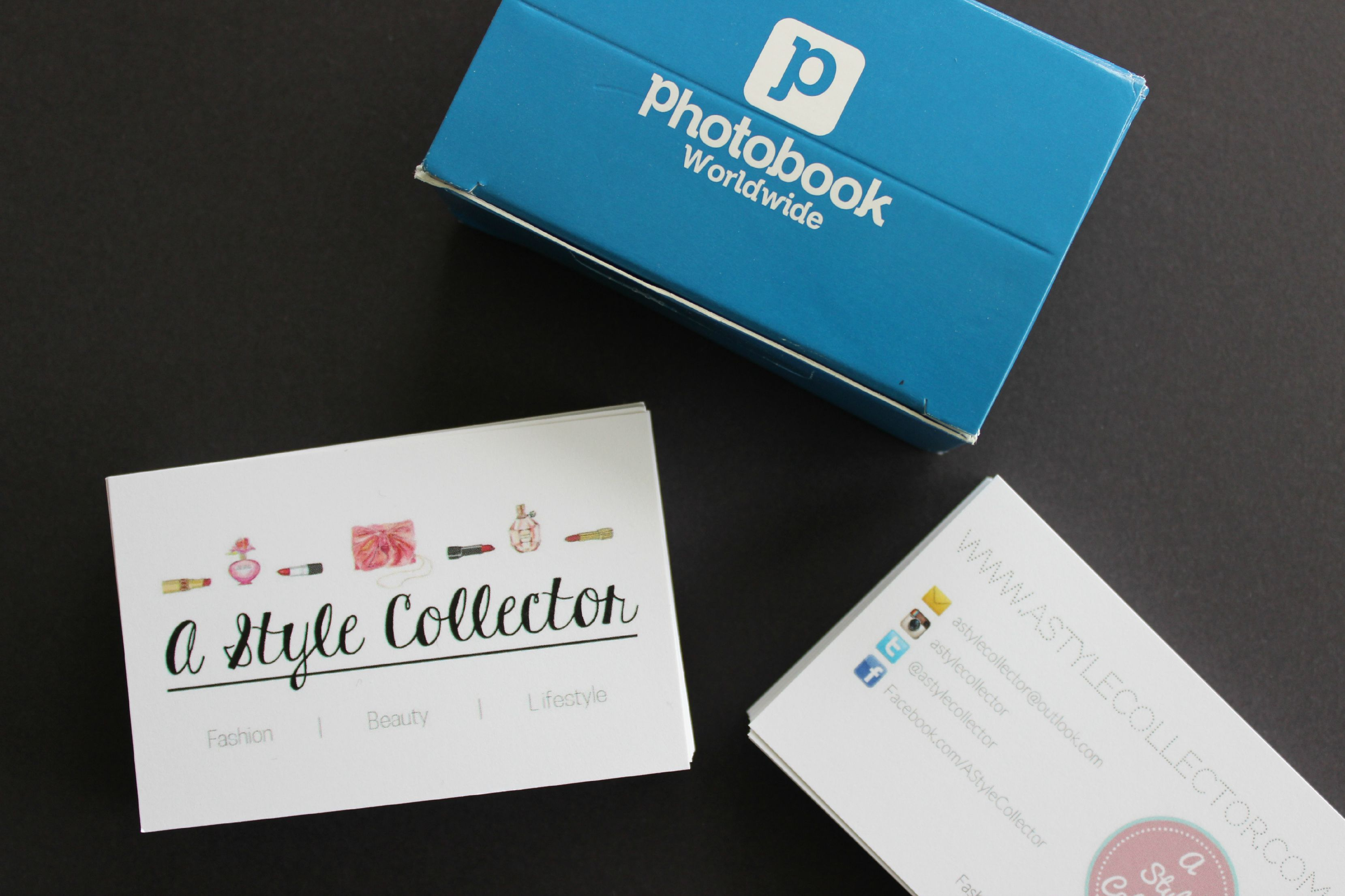 Blog Business Cards – A Style Collector