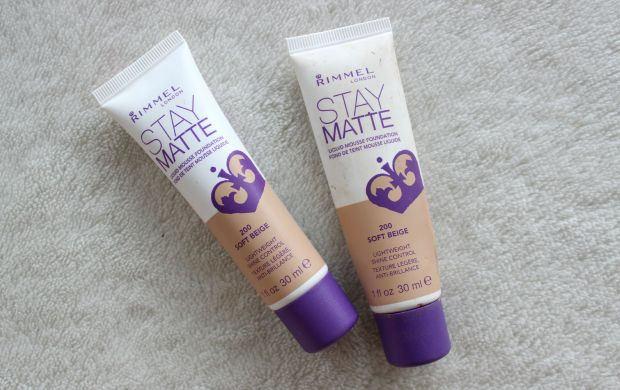 rimmel cosmetics stay matte foundation makeup