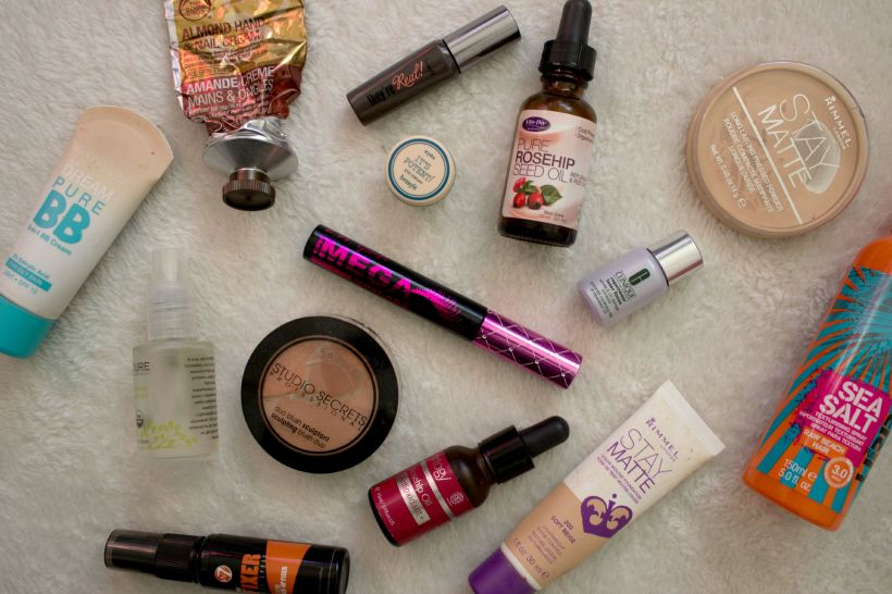 beauty empties makeup cosmetics haircare skincare