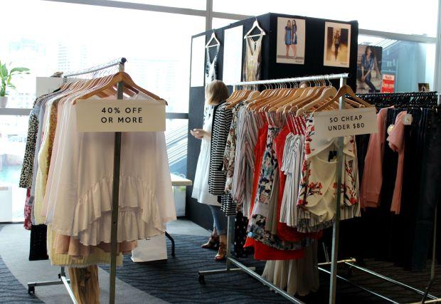 designer garage sale haul nzfw