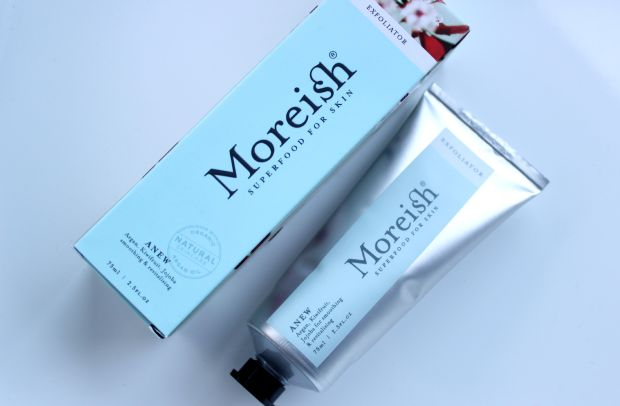 beauty vault haul skincare moreish exfoliator
