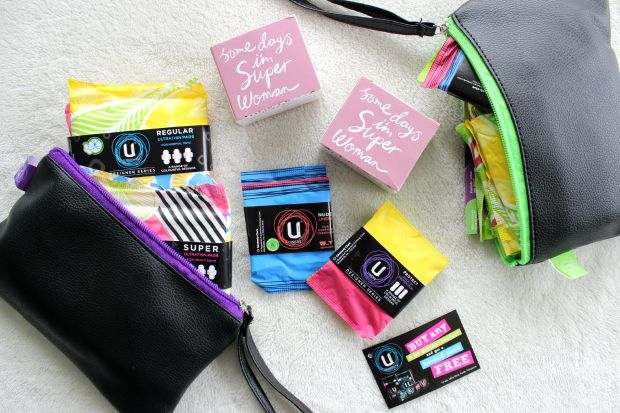 nzfw goodie bag kotex
