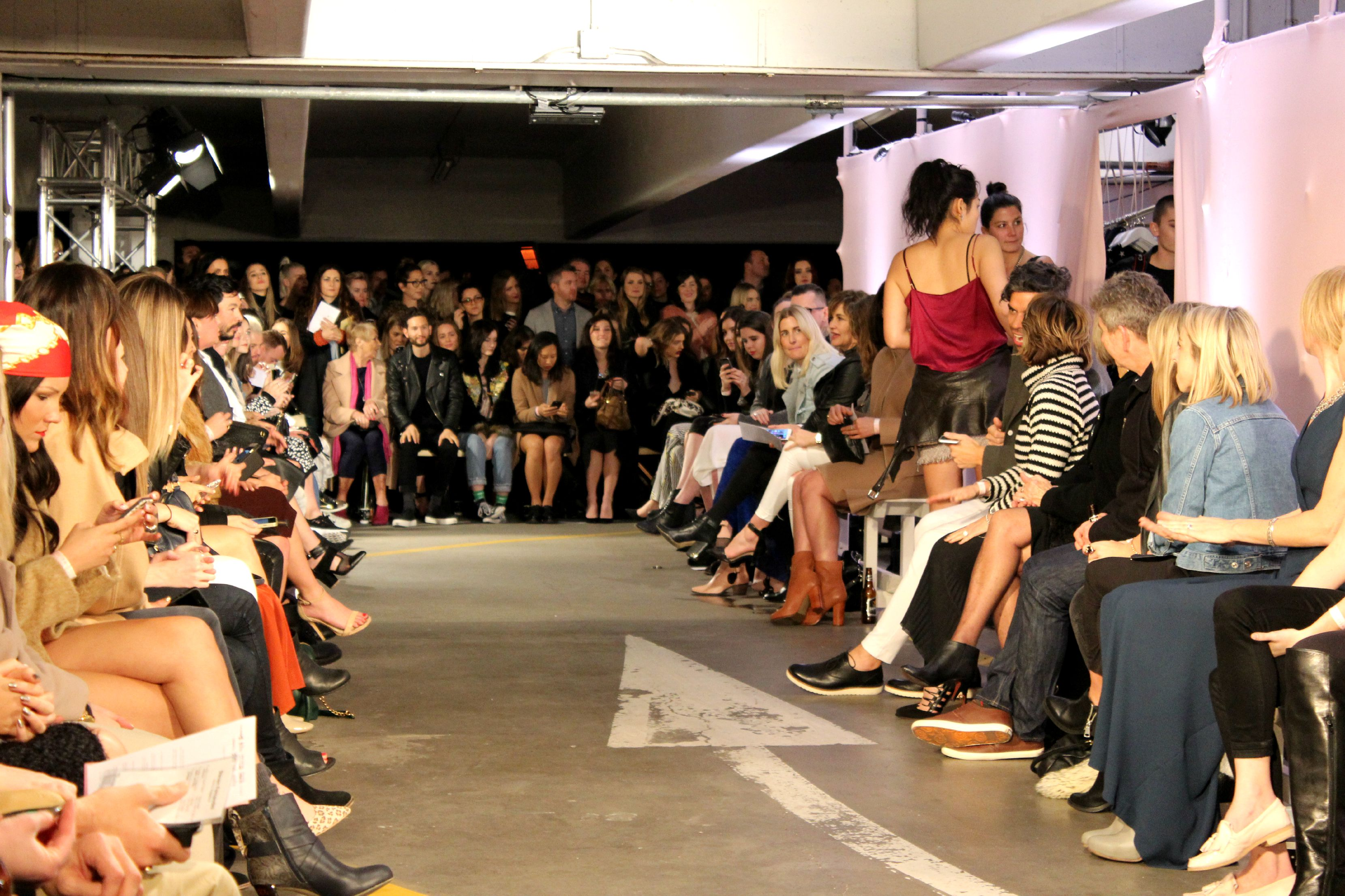 Fashion Show Runway Audience NZFW: RUBY – A Style...