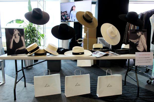 esigner garage sale haul hats