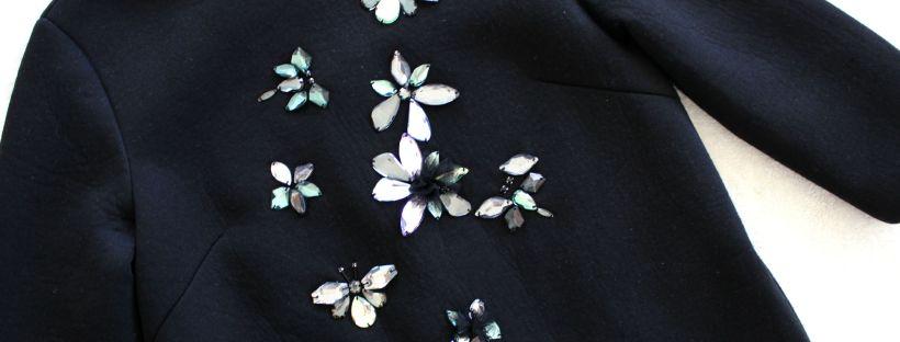 thrift haul black dress