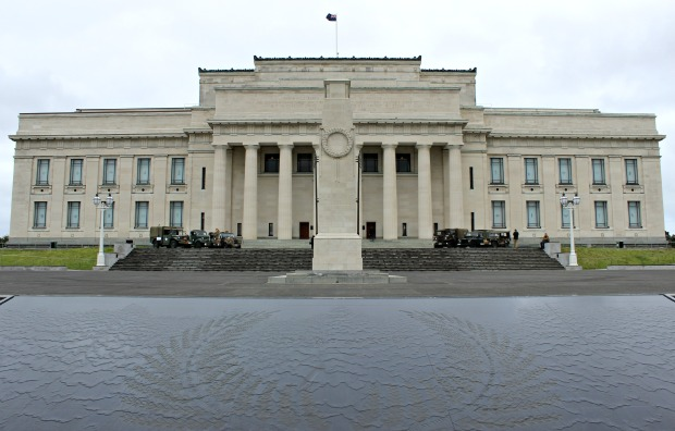 auckland domain war memorial museum building