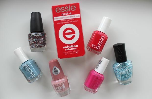 makeup sale haul nail polishes essie lagirl