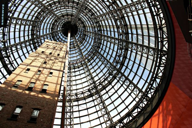melbourne central travel the dome