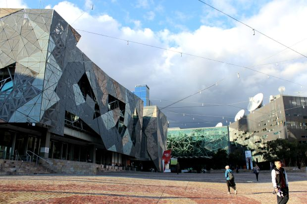 melbourne travel federation square