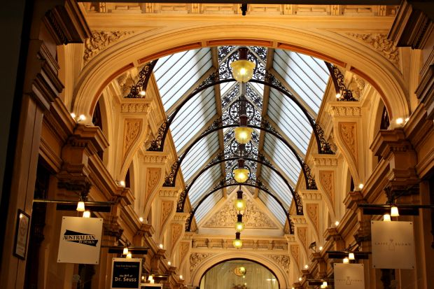 melbourne the block arcade building architecture