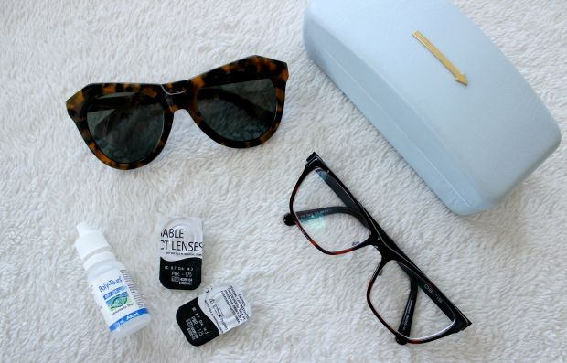 travel essentials sunglasses eyewear contacts