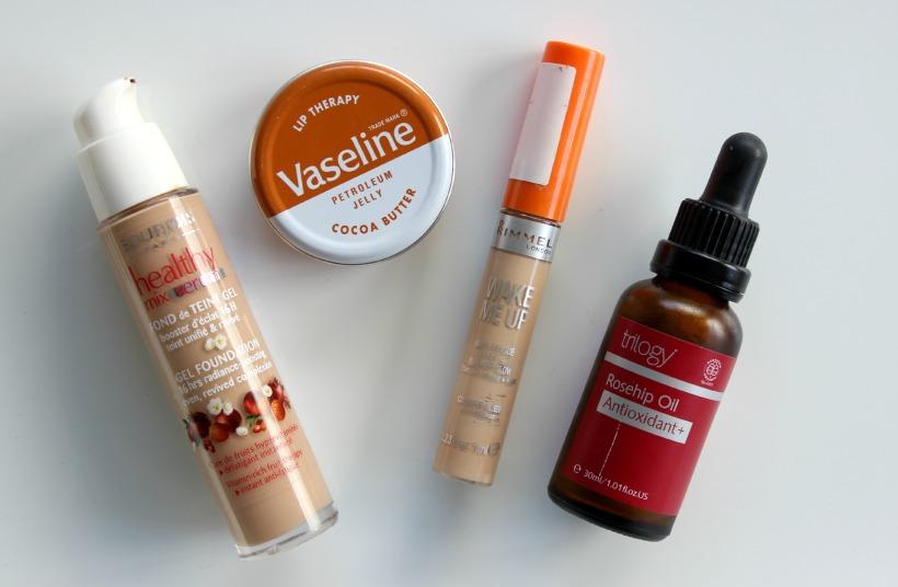 beauty empties skincare makeup trilogy bourjois rimmel