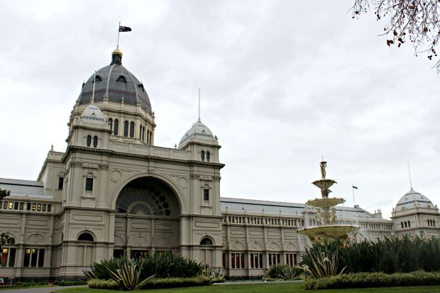carlton gardens royal exhibition building melbourne architecture