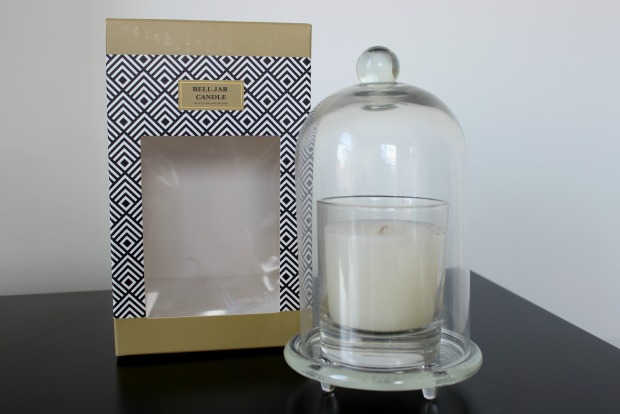 kmart home haul homewares bell jar candle