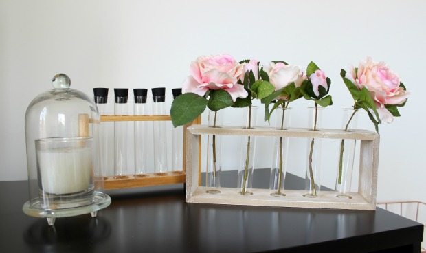 kmart home haul homewares test tube vase