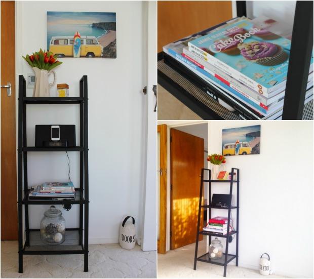 lounge room decor shelf