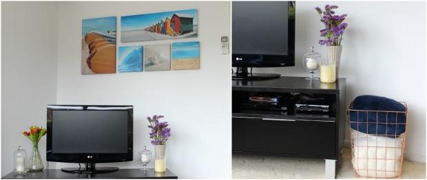 lounge room home decor tv wall