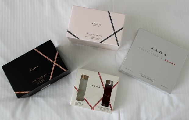 beauty cosmetics makeup haul zara perfumes