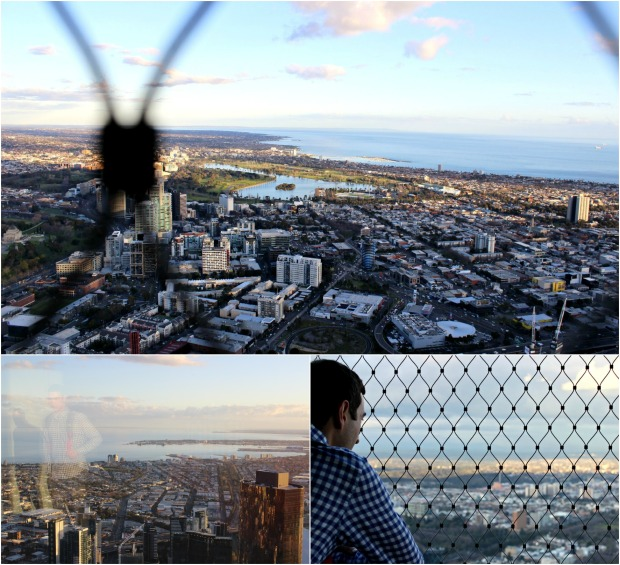 melbourne city view eureka skydeck travel